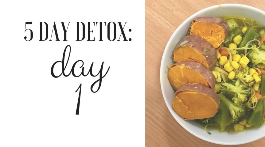 5 Day Detox: Day1