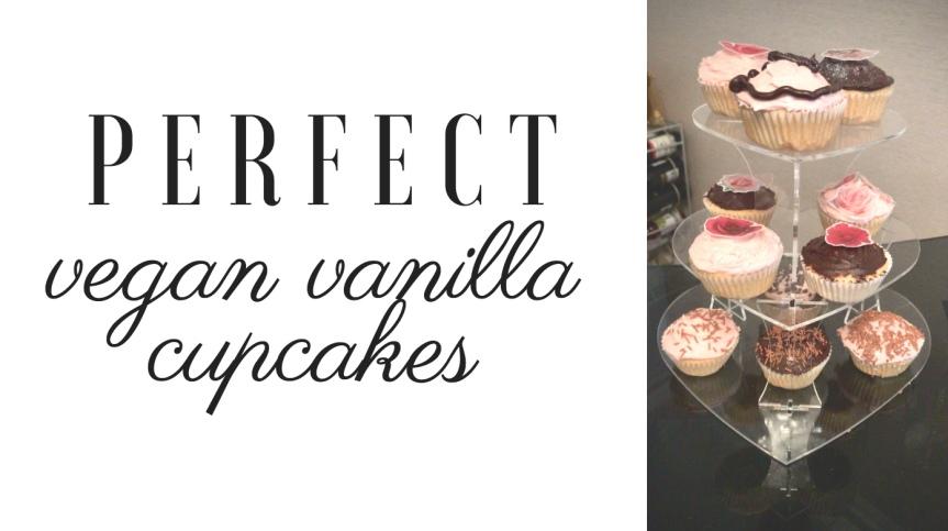 Perfect Vegan VanillaCupcakes