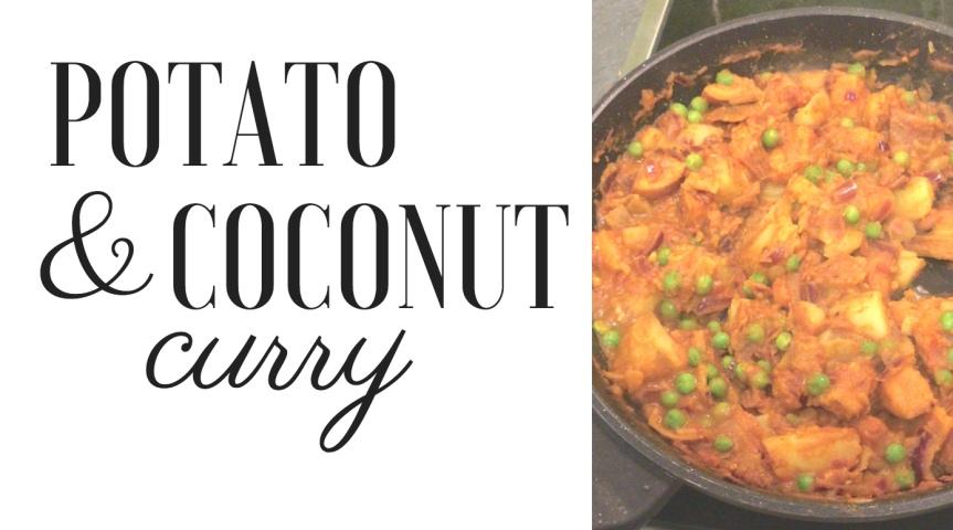 Potato and CoconutCurry